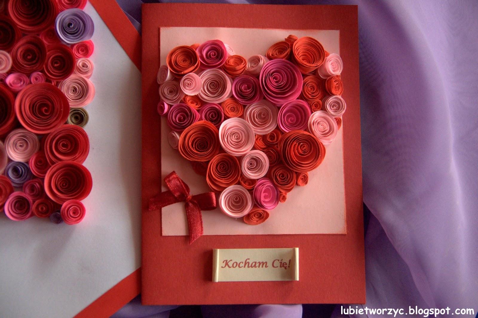 Lubię Tworzyć Handmadeowe Walentynkowe Inspiracje Diy