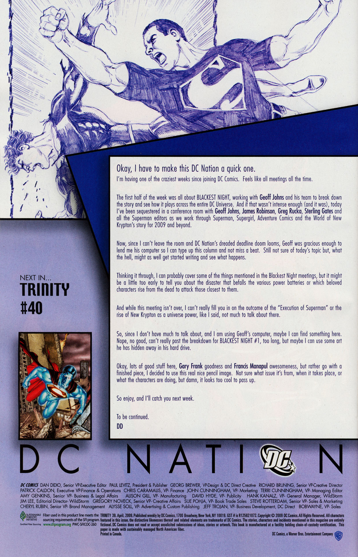 Read online Trinity (2008) comic -  Issue #39 - 35