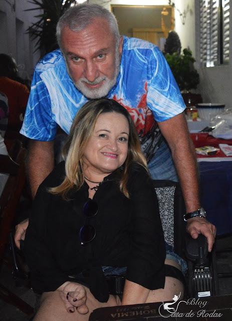 Blogueira Gata de Rodas na homenagem a São Jorge Guerreiro