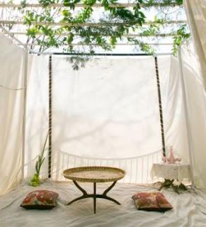 ASYIK ! Membangun Ruang/Lesehan/Tenda Besar dari Pipa PVC