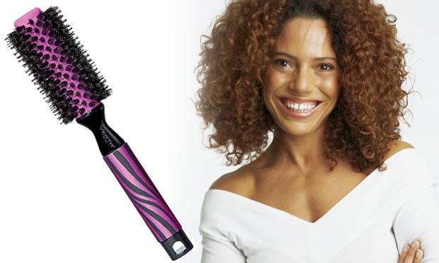escova para cabelo encaracolado - fotos