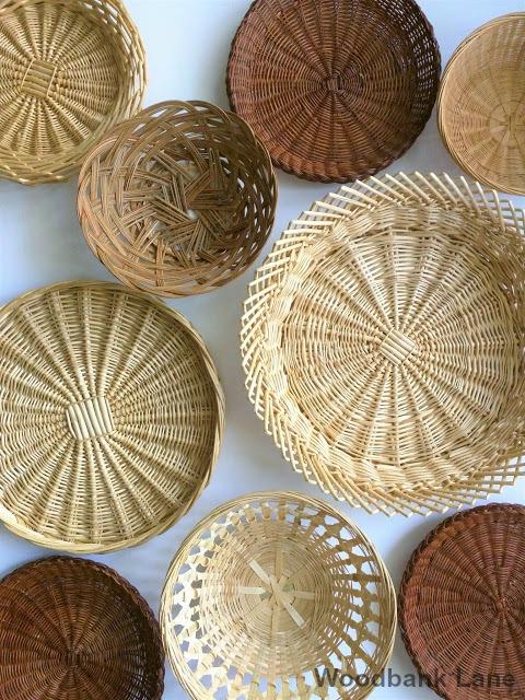 Woodbank Lane Decorating With Baskets