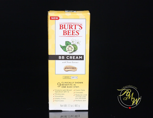 a photo of Burt's Bees BB Cream Review in shade light/medium