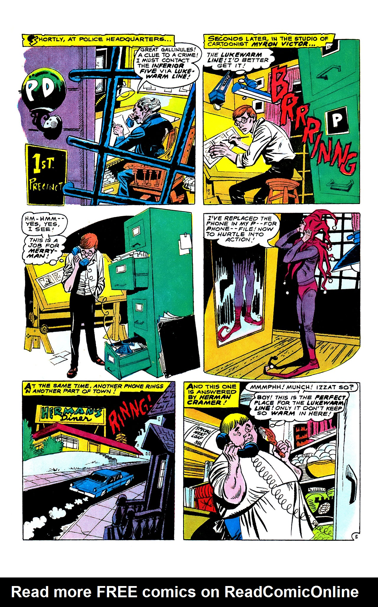 Read online Showcase comic -  Issue #63 - 8