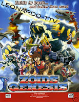 zoids genesis partially found english dub of anime series 2007