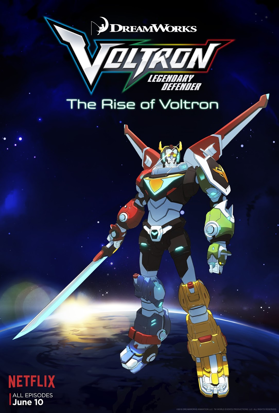 Voltron: Legendary Defender (2016) ταινιες online seires oipeirates greek subs