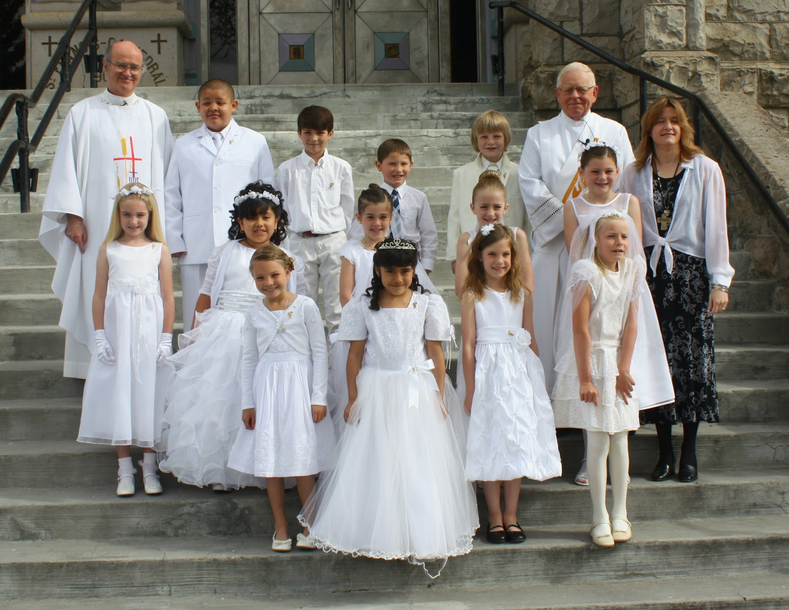 First Communion Children 2013