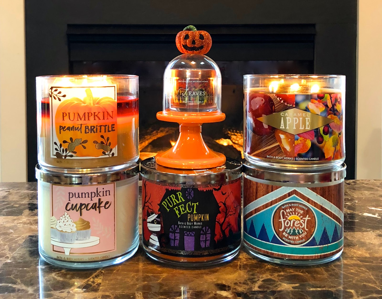 Blue Skies For Me Please Bath Body Works Fall Halloween Haul