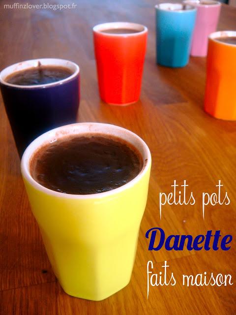 Recette Danette fait maison - muffinzlover.blogspot.fr