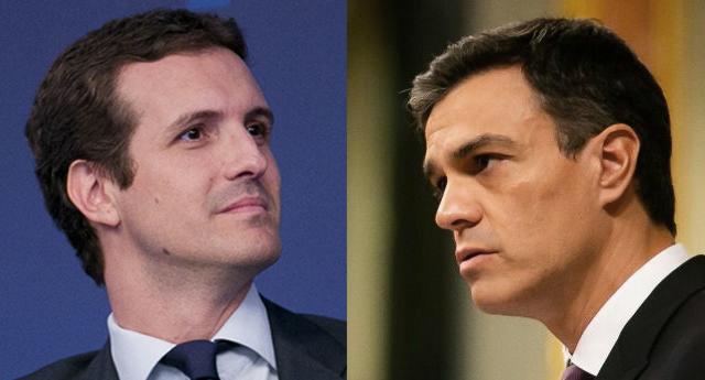 """Casado acusa a Sánchez de ser el """"responsable de un golpe de Estado"""""""