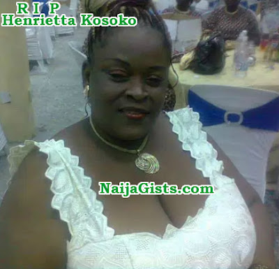 henrietta kosoko first husband marriage