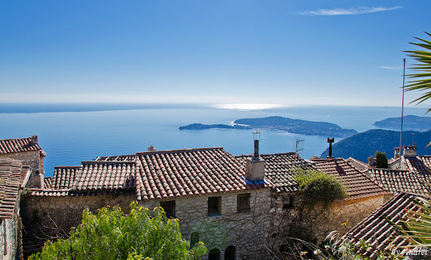 Eze Coasta de Azur Franta