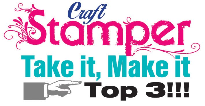 Top three Craft Stamper Magazine