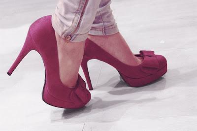 Zapatos para fiesta de noche rojos