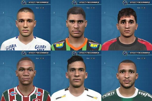 PES 2016 Brasileirão Facepack