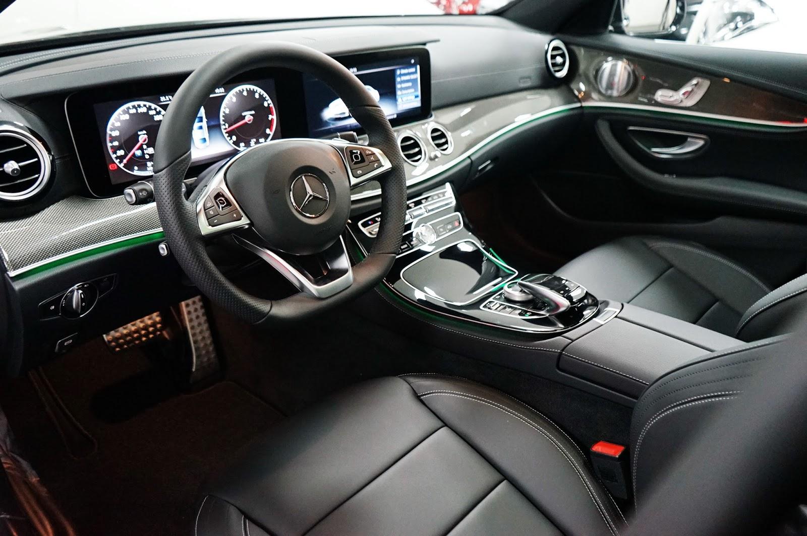 xe Mercedes Benz E400 thế hệ mới 06