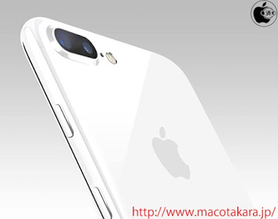 "Apple is planning to add glossy ""Jet White"" color option for iPhone 7 and iPhone 7 Plus as report by Japanese website Mac Otakara."