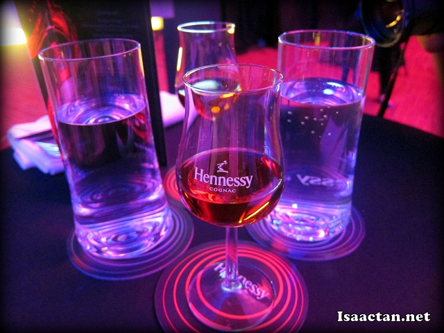 Hennessy VSOP tasting session with food pairing