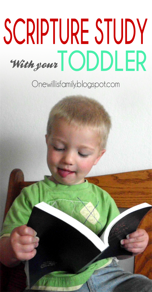 Scripture Study with your Toddler