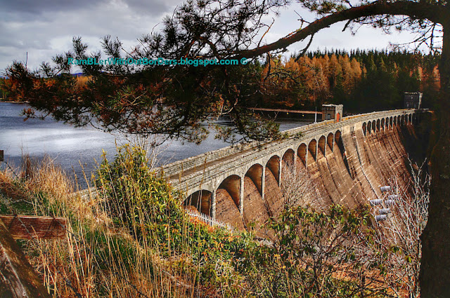 Laggan Dam, Scotland, UK