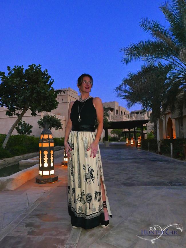 marta halcon de villavicencio-hunterchic by marta-google-como combinar una falda larga