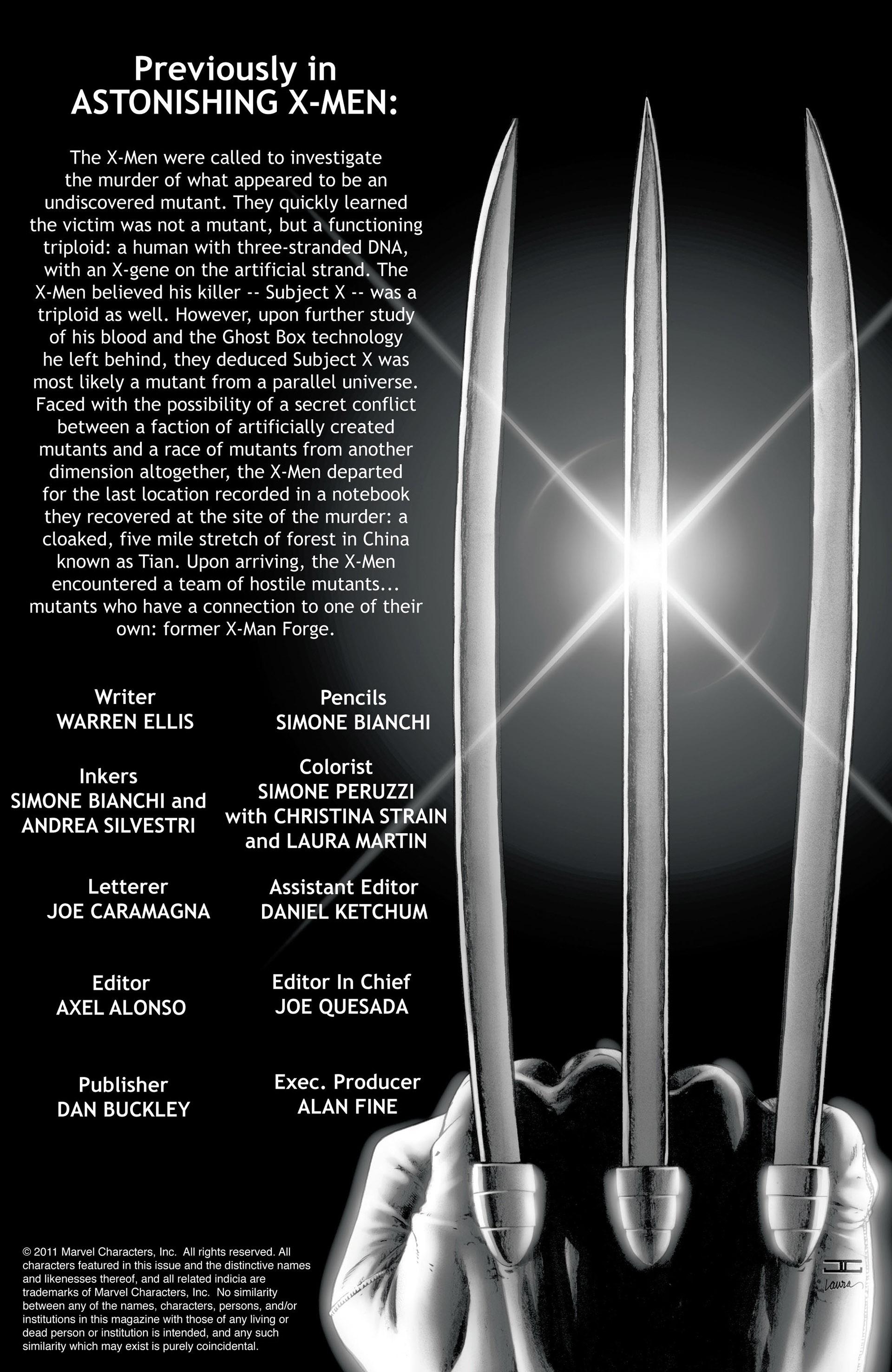 Read online Astonishing X-Men (2004) comic -  Issue #29 - 2