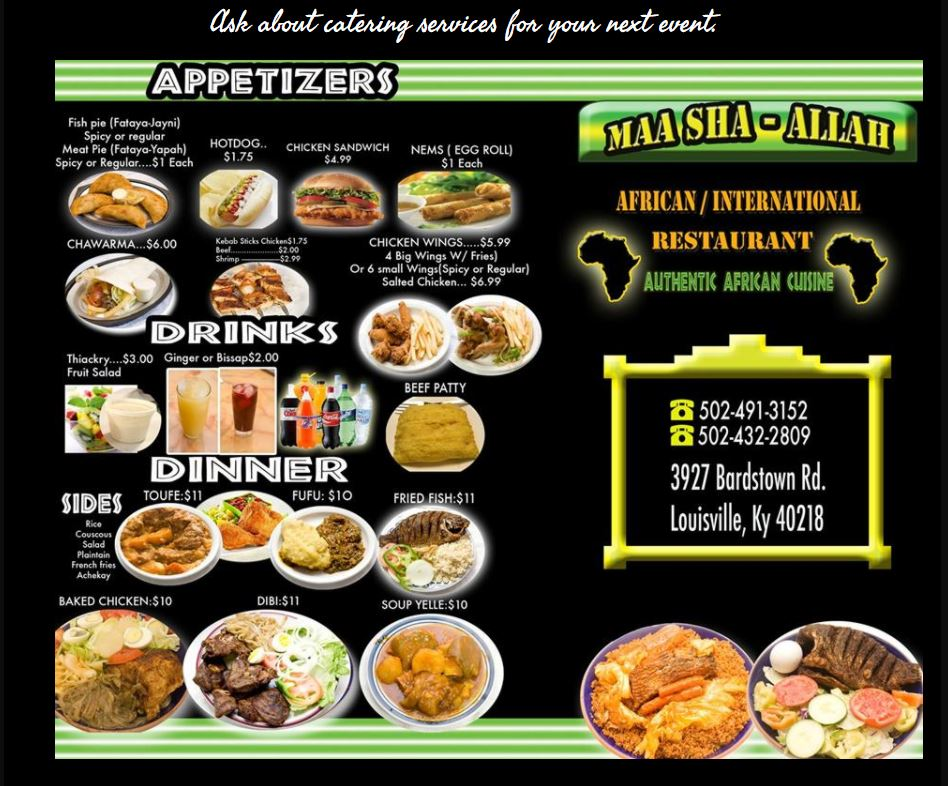Louisville Off Track Mashallah Restaurant A Delicious Food Trip To