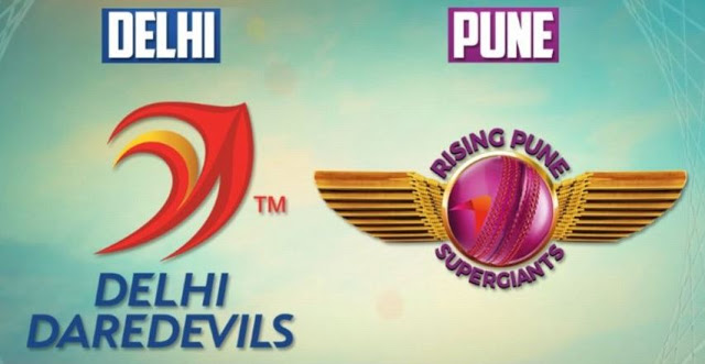IPL 2017 RPS vs DD T20 Full Match Highlights