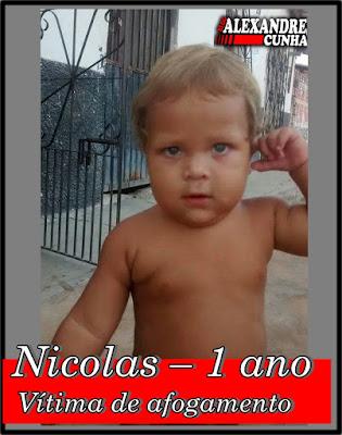 Criança de um ano morre afogada enquanto brincava no quintal de casa, em Chapadinha.