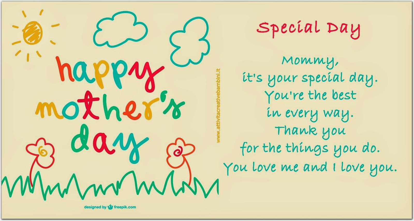 Imparare a recitare poesie è un ottimo esercizio di memoria! Special Day Poesia In Inglese Per La Festa Della Mamma