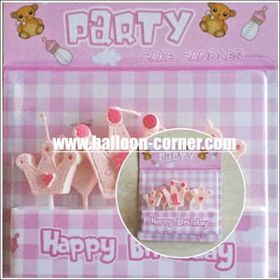 Lilin Ultah Motif 1 First Baby Girl