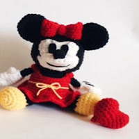PATRON MINNIE MOUSE AMIGURUMI 28425