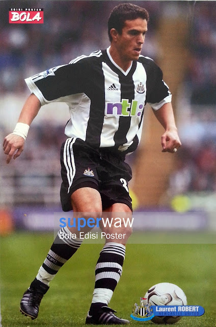 Poster Laurent Robert (Newcastle United)