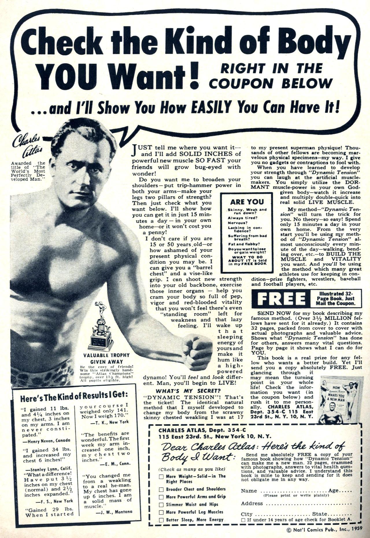 Read online Detective Comics (1937) comic -  Issue #265 - 2