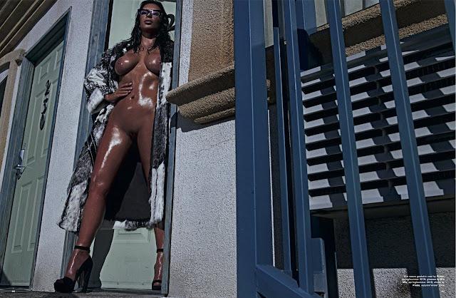 Kim Kardashian - Love magazine