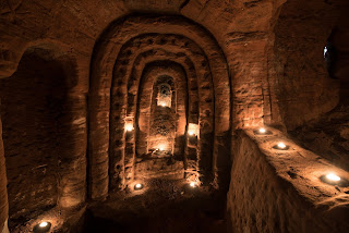 Knights Templar Caves Discovers in Rabbit Hole - Reading, Writing, Booking Blog