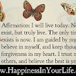 Affirmation - Moving forward