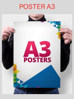 Harga Cetak Poster A3 Satuan Jakarta Timur