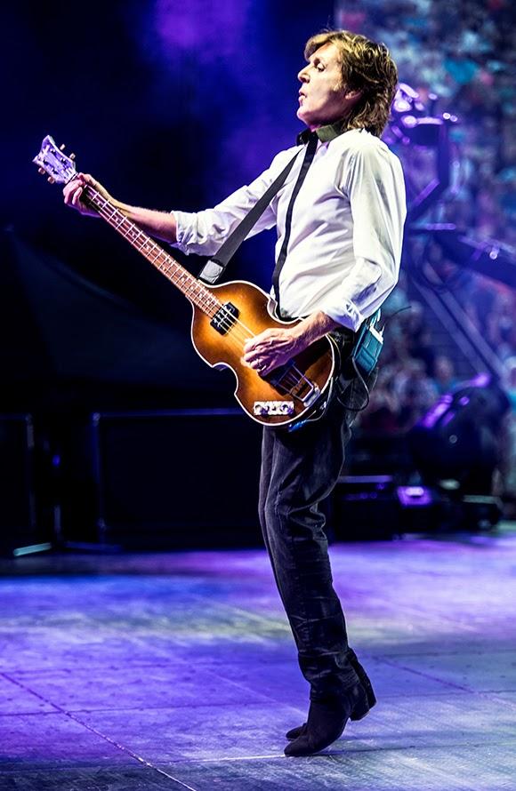 Paul McCartney sans eau et sans pause pendant ses concerts