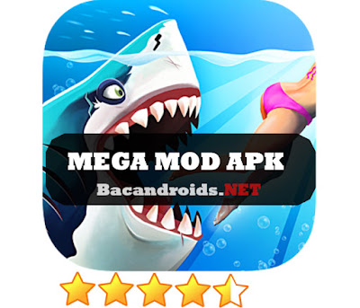 download Game Hungry Shark World Mega Mod Apk + Data Versi Terbaru gratis