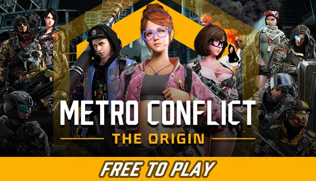 METRO CONFLICT: THE ORIGIN (PUBG Style) Free In Steam