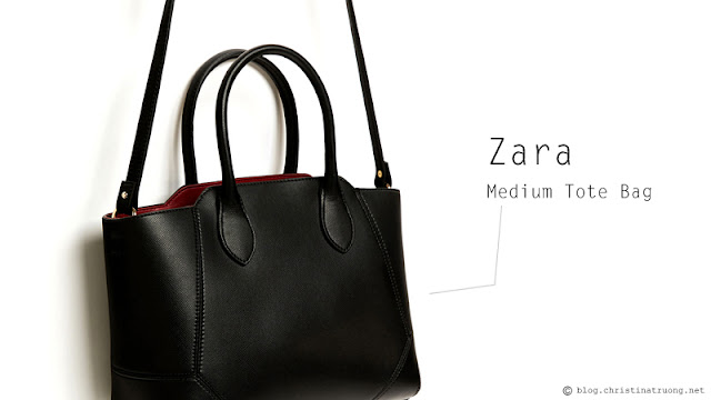 What's In My Bag? Zara Medium Tote Bag Review