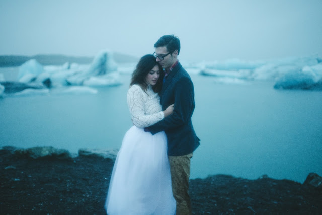Jökulsárlón, Iceland, Wedding, Elopement, Blue, Lagoon,