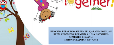 RPPM PAUD Usia 2-3 Tahun Semester 1 Kurikulum 2013