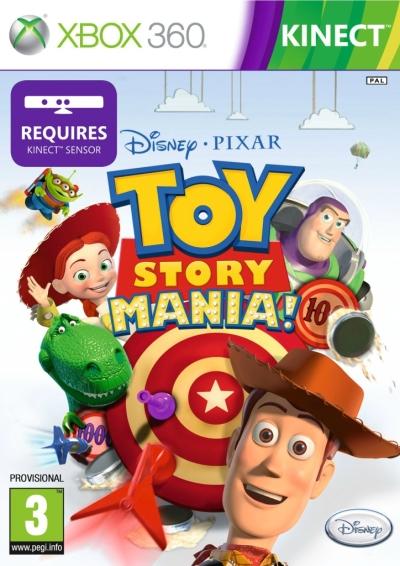 Toy Story Mania Xbox 360 Español Region Free Descargar 2012