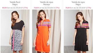 más vestidos en oferta