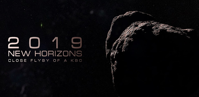 Just 33 minutes into the New Year (Eastern Time), New Horizons will fly approximately 2,200 miles from the surface of a Kuiper Belt object nicknamed Ultima Thule – making it the farthest planetary object ever visited by a spacecraft. Image Credit: Roman Tkachenko