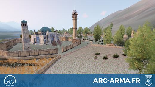 アフガン渓谷を再現したArma3用FarkharマップMODが作製中