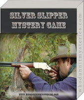 Silver Slipper Whodunnit Cowboy themed murder mystery dinner game