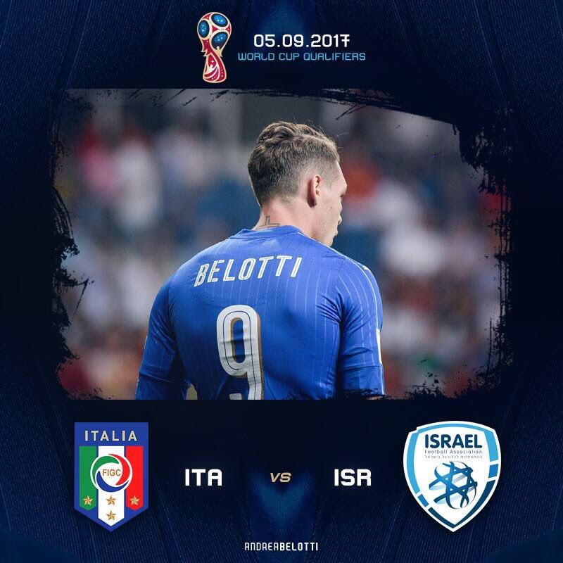 Dove vedere Italia-Israele Rojadirecta Streaming Video e Diretta TV, oggi 5 settembre 2017 | Qual Mondiali Russia 2018